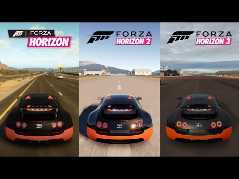 forza horizon 2 versus bugatti veyron super sport vs hennessey venom gt funnycat tv. Black Bedroom Furniture Sets. Home Design Ideas