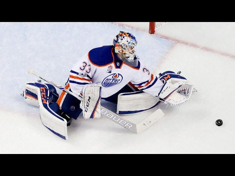 Talbot makes 39 saves as Oilers edge Ducks to go up 2-0 in series
