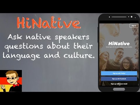 Ask Native Speakers Questions About Language & Culture with HiNative