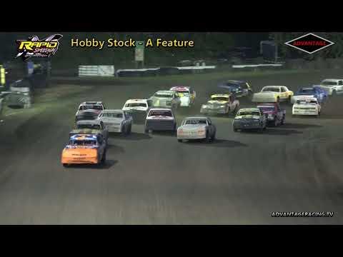 Hobby Stock Features - Rapid Speedway - 7/20/18