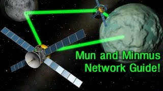 KSP 1.2: How to Setup a Mun and Minmus Relay Network