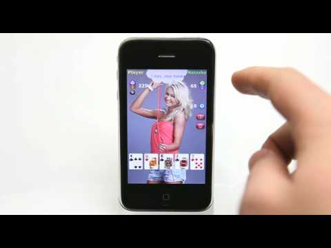 Video Strip Poker IPhone App Demo