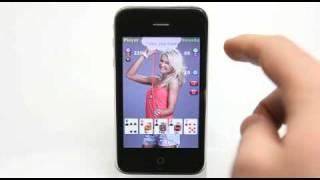 Video Strip Poker iPhone App Demo