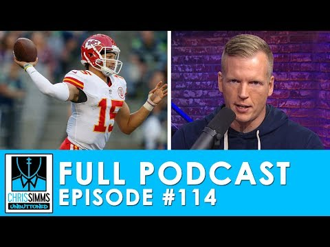 Divisional Picks: Watson vs Mahomes, Florio goes with heart | Chris Simms Unbuttoned (Ep. 114 FULL)