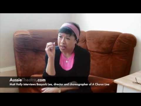 A Chorus Line: Exclusive video interview with Baayork Lee (original Connie)
