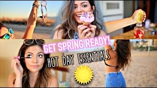 Spring Guide! Beach Essentials, Sweatproof makeup + more! thumbnail