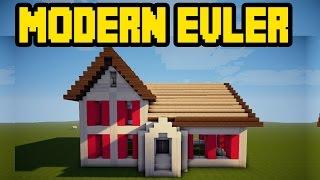 Minecraft Modern Evler Kapışması /w Rodinya /w Gitaristv /w Eso