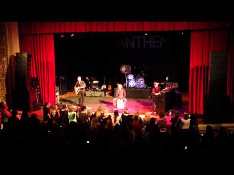 Hanson live at Carnegie Library Music Hall November 8 2013