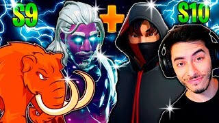 WIR APPELLIEREN ZU DEN ZWEI MOST EXPENSIVE SKINS der FORTNITE SKIN GALAXY S9 S10 IKONIK Ft. PATRIOTA RED und CAIO