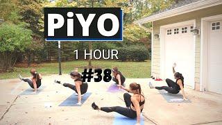 PiYO #38 | Yoga Cardio Strength | No Equipment Full Body Workout | At Home | Low Impact