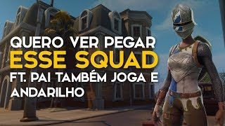 SQUAD FT. PAI ALSO PLAYS and ANDARILHO (Fortnite Battle Royale gratis) [EN-BR]-Softe