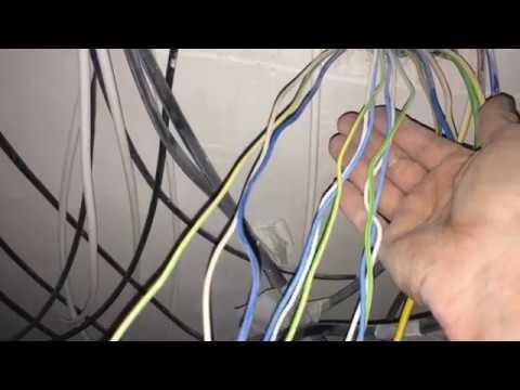 Работа электриком.