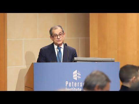 Giovanni Tria: Italian and European Economic Outlook