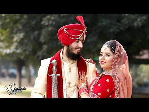 NAVJOT & HARLEEN WEDDING TEASER Chandigarh Video's 9814034300