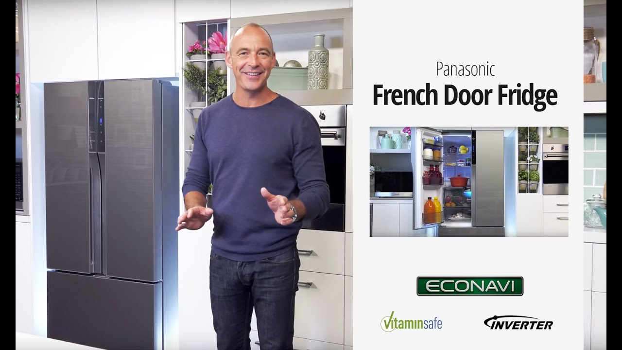 Superior Panasonic French Door Fridge Part - 3: Panasonic French Door Fridge U2013 Learn More With Lochie Daddo
