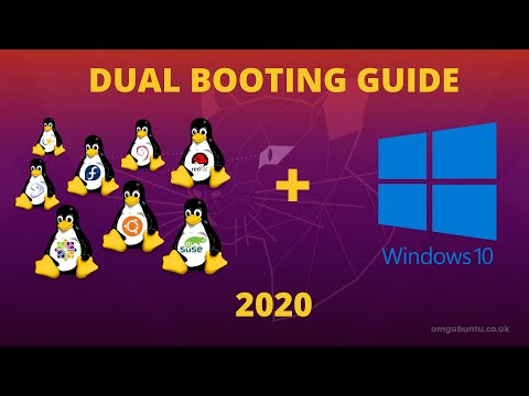 Complete Guide To Dual-Booting Ubuntu 20.04 + Windows 10 || With Full Nvidia Driver Support. #linux
