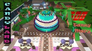 Roblox: Bloxburg | Candyland! Walkthrough RP
