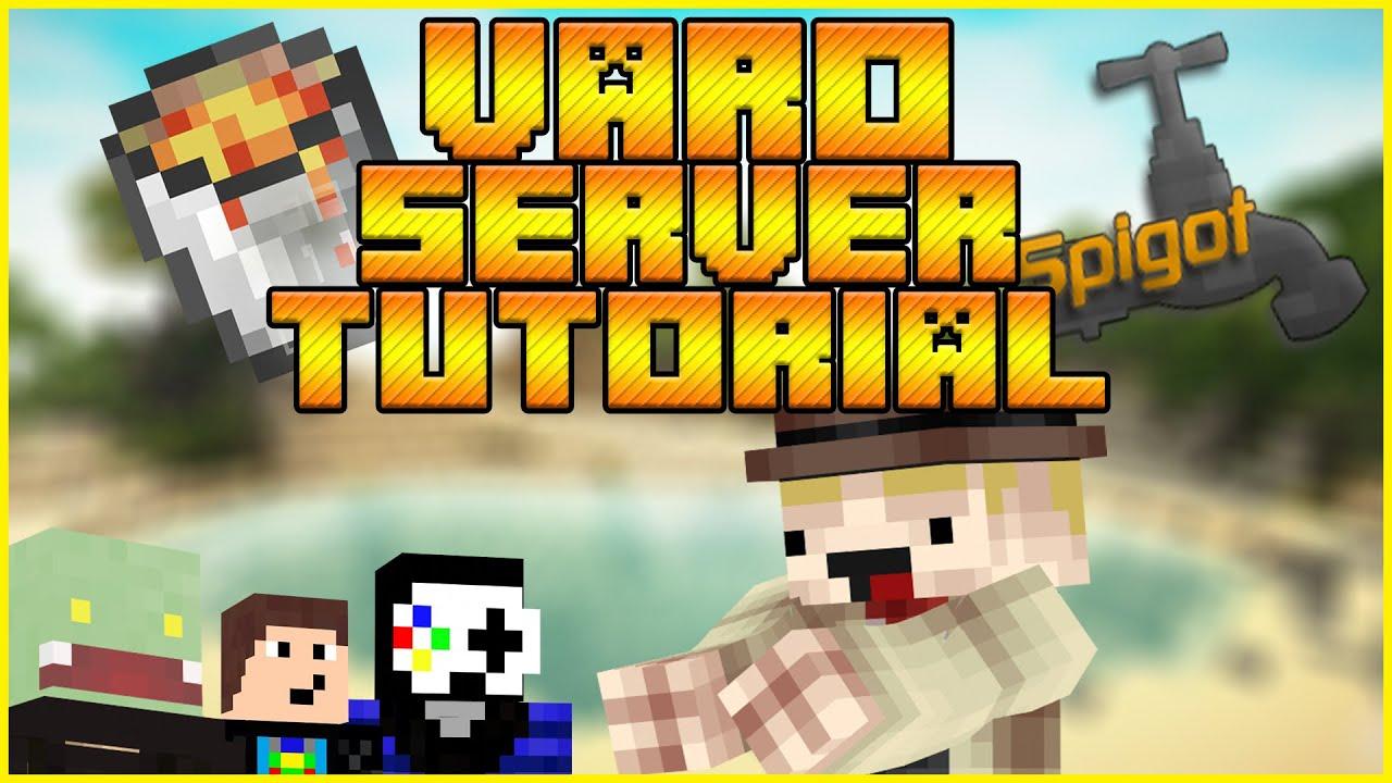 Eigenen VARO Server Erstellen Varo Plugin Tutorial YouTube - Minecraft varo server kostenlos erstellen