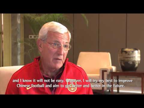 Marcello Lippi: I will try my best to improve Chinese football