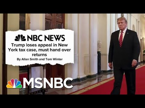 President Donald Trump Buried Under A Mountain Of Ongoing Legal Woes | Deadline | MSNBC