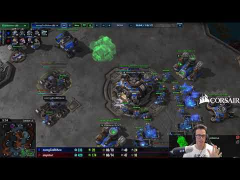 """""""After Dealing Damage how do I defend the counterattack?"""" Gold TvZ - Newbie Stream"""