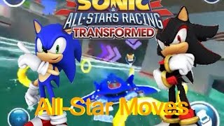 Sonic & All-Stars Racing Transformed - iOS/Android - All Star Moves