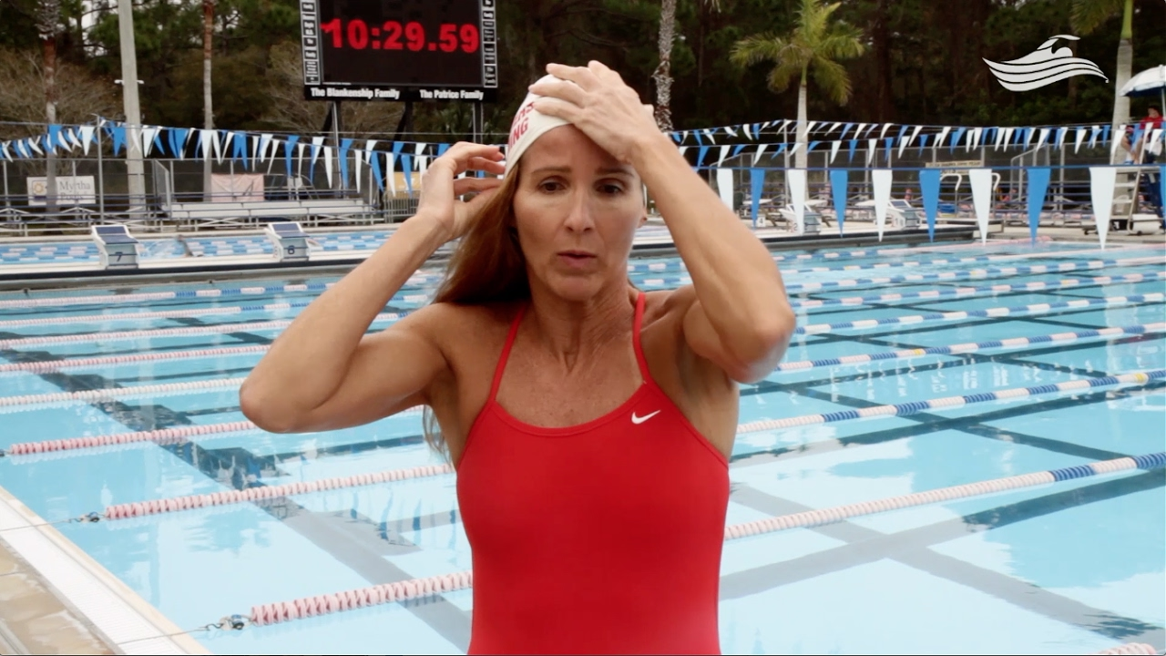 981bfbbdd7 Swimming 101  How to Put on a Swim Cap - YouTube