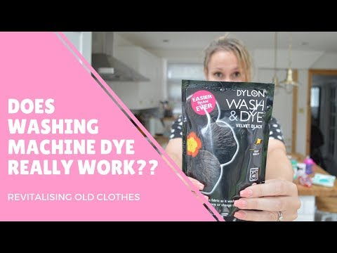 Repeat How to use Dylon All in 1 Fabric Dye | Review | Annie