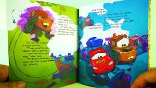 Disney Pixar Cars Tractor Trouble Kids Books Read Aloud 맥퀸 자동차