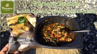 Panera Bread Lentil Quinoa Bowl With Chicken Review
