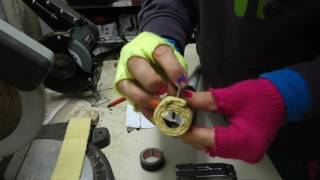 Video Rainbows tutorials #5: How to build/repair fire toys (Attach wrapped kevlar heads) download MP3, 3GP, MP4, WEBM, AVI, FLV Agustus 2018
