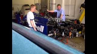 Classic Tyrrell F1 with Cosworth DFV