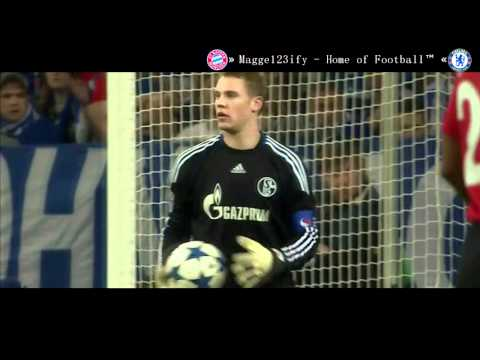 Manuel Neuer | One Man Show vs ManU | HD | 2011