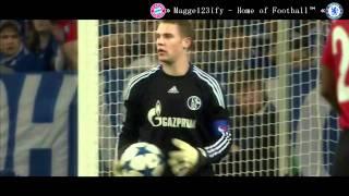 Manuel Neuer | One Man Show vs ManU | HD | 2011 thumbnail