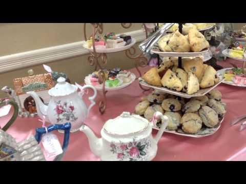 Woman's Tea Party Set Up