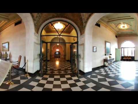 360 Video Tour - Marland Mansion (Part 1) - Ponca City, Oklahoma