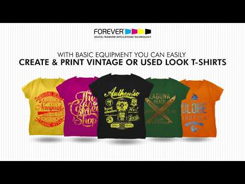 Forever® Flex-Soft (No-Cut) Transfer Paper - Vintage Effects