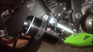 2013 Kawasaki Ninja ZX6R Exhaust - Two Brothers Si