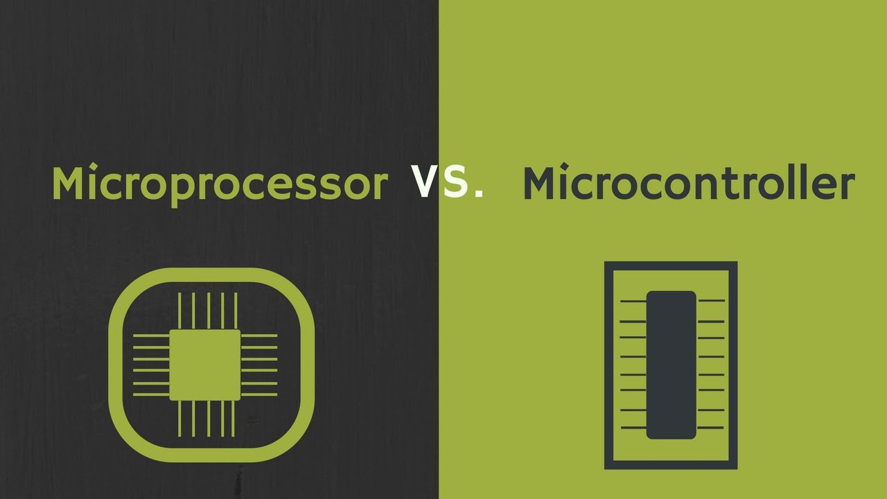 Difference Between Microprocessor And Microcontroller Pdf