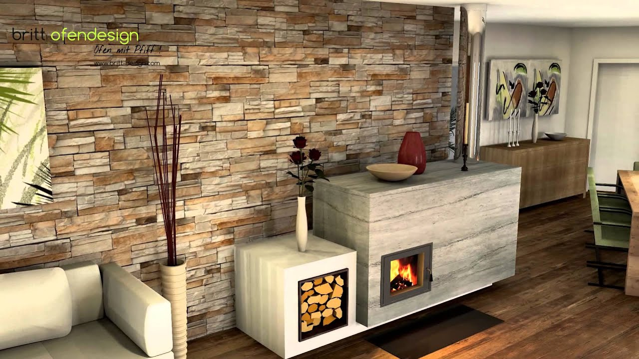 055 britt ofendesign fireplacedesign kachelofen modern tiled stove contemporary youtube. Black Bedroom Furniture Sets. Home Design Ideas