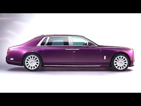 New Rolls Royce Phantom EWB 2018 INTERIOR World Premiere Rolls Royce Phantom LWB Limousine CARJAM