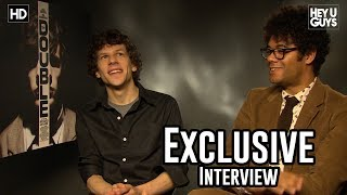 Jesse Eisenberg & Richard Ayoade - The Double Exclusive Interview