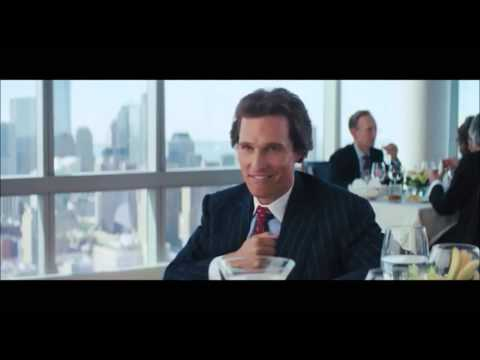 The Wolf Of Wall Street Hilarious Restaurant Music Beat Song Mark Hanna & Jordan Belfort