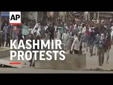 Multiple Kashmir protests against Indian rule