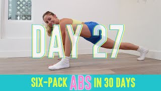 GET SIX-PACK ABS IN 30 DAYS CHALLENGE! Day 27: Crowned Champion! #StretchyFitAbs