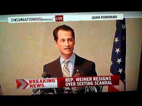 Howard Stern Show's Benjy Bronk pranks Anthony Weiner resignation