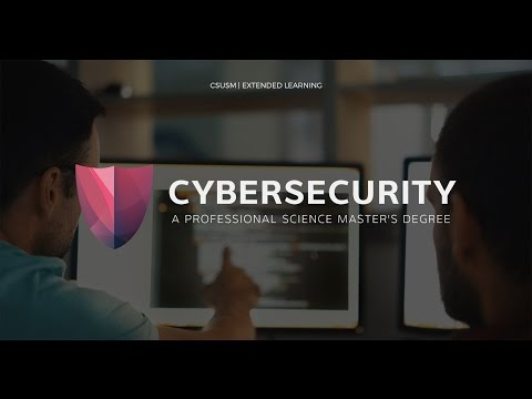 Professional Science Master's Degree in Cybersecurity from CSUSM