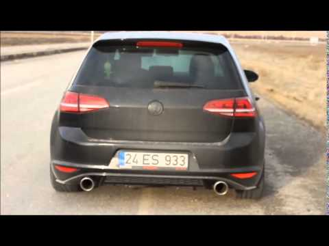 golf 7 1 4 tsi bull x gt non resonated exhaust youtube. Black Bedroom Furniture Sets. Home Design Ideas
