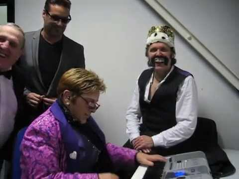 Freddie Mercury, Elton John and George Michael - 3 Puffs and a Piano