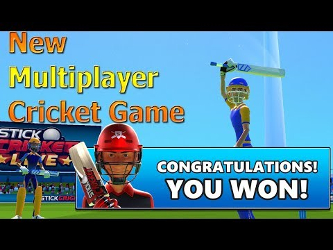🔥 New Multiplayer Cricket Game - Stick Cricket Live First Gameplay Review ANdroid IOS Stick Sports